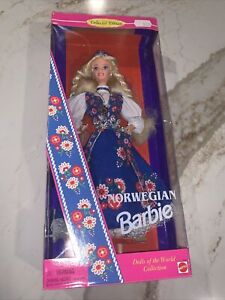 NORWEGIAN BARBIE  SO BEAUTIFUL AND DETAILED  1995  #14450