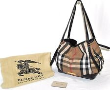 Burberry Signature Bridle House 'Canterbury Tote, Pre-owned F(See Condition)$895