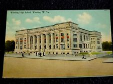 Early 1900's The Wheeling High School in Wheeling, Wv West Virginia Pc