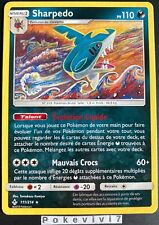 Carte Pokemon SHARPEDO 111/214 RARE Soleil et Lune 10 SL10 FR NEUF
