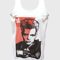 BILLY IDOL PUNK ROCK T-SHIRT unisex VEST TANK TOP generation x adam ant S-2XL