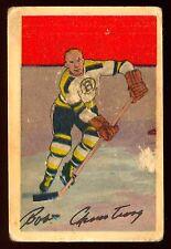 1952 53 PARKHURST HOCKEY #84 BOB ARMSTRONG RC VG BOSTON BRUINS ROOKIE CARD CARD