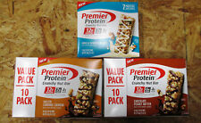 2 Pack Premier Protein Protein Bar Vanilla Almond/Chocolate/Caramel Expire 01/21