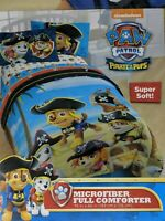 Paw Patrol Microfiber Comforter Pirates And Pups Twin size