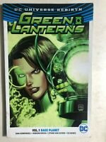 GREEN LANTERN volume 1 Rage Planet. (2017) DC Comics TPB 1st G/VG