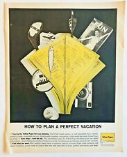 Yellow Pages Print Ad 1961 Vintage Advertising 1960s Telephone 10.5 x 13