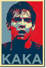 KAKA ART PHOTO PRINT (OBAMA HOPE PARODY) POSTER GIFT Ricardo Kaká