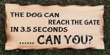 Dogs & Puppies Rustic/Primitive Decorative Hanging Signs