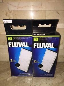 Fluval U2 Poly/Carbon Cartridge 2 PACKS