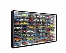 Jack Cube Hot Wheels 1/64 Scale Diecast Display Case Storage Cabinet Shelf Wall