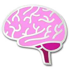 Human Brain Medical Enamel Badge Lapel Pin