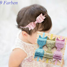 Hairband Bow Sequin Baby Girl Headband Hair Accessories 9 Colors