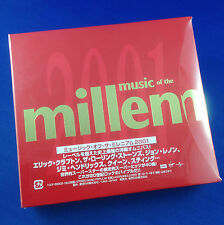JANET JACKSON, QUEEN, PRINCE, U2: Music Of The Millenium JAPAN 2001 Ltd Ed OOP