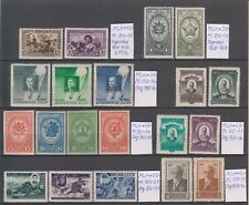 Russia 1941- 44   20 stamps, MLH OG, 2 scans