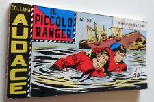 COLLANA AUDACE IL PICCOLO RANGER SERIE VII N.33 1969