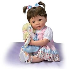 Lifelike Molly And Rags Poseable Talking Baby Doll by The Ashton-Drake Galleries