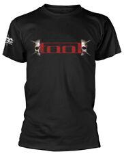 Tool 'Skull Spikes' (Negro) T-Shirt - ¡NUEVO Y OFICIAL!