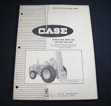 Case 310B M420 430 440 Forklifts Lift Trucks Parts Manual Book Catalog Fork Lift