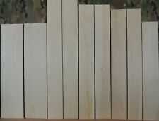 """9 Thin White Pine Boards-1/8"""" thick-lumber/wood/crafts/ veneer/inlay/scrollsaw"""