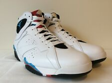 Nike Air Jordan 7 Retro Orion 2011 White Orion Blue 304775 105 NWB DS Men Sz 12