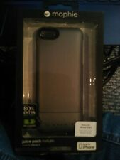 New Mophie Juice Pack Helium Iphone 5 Recharging Portable Case Charcoal color
