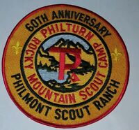 BSA Boy Scouts of America 60th Anniversary Philturn RMSC Philmont Back Patch