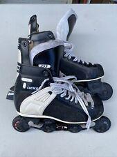 Vintage CCM TACKS 352 Inline Hockey Skates rollerhockey Size 10 EUC
