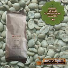 Caffè Verde in Grani Indiano Plantation AA 1 Kg - Caffè Arabica 100%