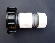"""IBC ADAPTER to 3/4"""" Snap-On / Push Fit Connector c/w 3/4"""" Female Hose Connector"""