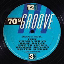 12 Inch Dance: 70's Groove (2015, CD NIEUW)3 DISC SET