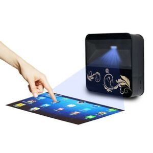 Large Touch Projector 150inch Screen Android Mobile Applicate Wifi Bluetooth HD