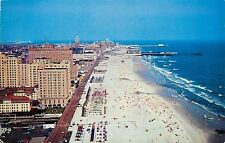 Atlantic City New Jersey NJ Aerial View  Postcard