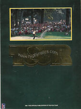 1981 Official Pga Tour Golf Magazine