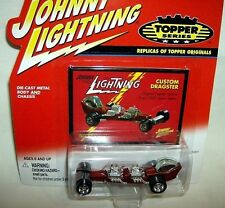 JL 1/64 topper R2 CUSTOM DRAGSTER TWIN ENGINE RAIL-red