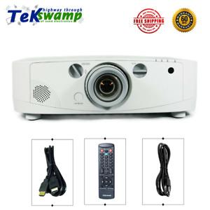 NEC PA500X 3LCD Projector 5000 Lumens HD 1080p HDMI w/Remote Crestron