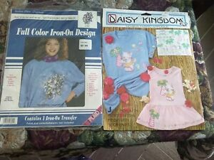 Mixed Lot Fashion Show Originals Iron On Design & Daisy Kingdom No Sew Applique