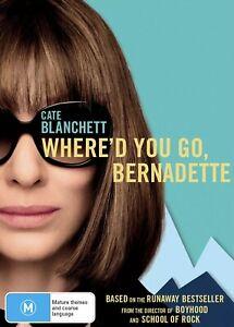 Whered You Go, Bernadette (DVD, 2020) Region 4 - Australia