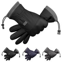 Women's Ladies Winter Warm Gloves Windproof Cold Weather Driving Soft Lining