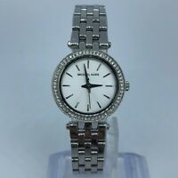 MICHAEL KORS SILVER TONE STAINLESS STEEL WOMENS WATCH Case 26mm MK3294