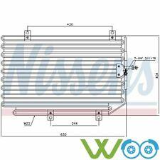 Kondensator, Klimaanlage  für Alfa Romeo Spider GTV 94816