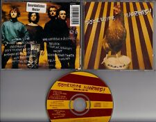 SOMETHING HAPPENS! Bedlam A Go Go 1992 CD ALBUM IRISH ROCK wGERMAN promo sticker
