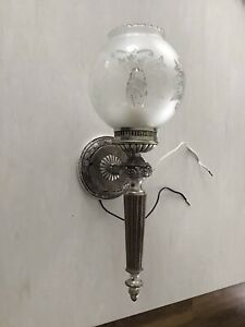 Antique Vintage Made in Spain Wall Lamp Lights SCONCES