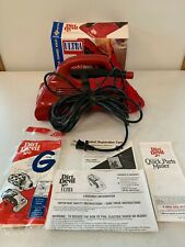 VTG Dirt Devil Ultra By Royal 4 Amp Red Electric Handheld Vacuum Cleaner M08230C