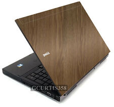 WOOD Vinyl Lid Skin Cover Decal fits Dell Precision M6400 M6500 Laptop