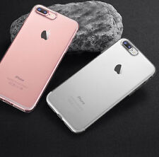 For iPhone 8 Plus 7 Plus Transparent Crystal Clear Case Gel TPU Soft Cover Skin