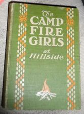 The Camp Fire Girls at Hillside - M. Vandercook 1913