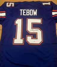 Tim Tebow Florida Gators Autographed Signed Jersey XL COA