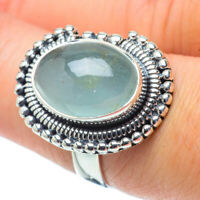 Aquamarine 925 Sterling Silver Ring Size 8 Ana Co Jewelry R32278