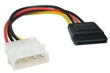 Molex 4 pin to 15 pin SATA Serial ATA Power Cable Lead