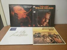 Willie Nelson Lot of 4 Vinyl LP - Troublemaker - Honeysuckle Rose